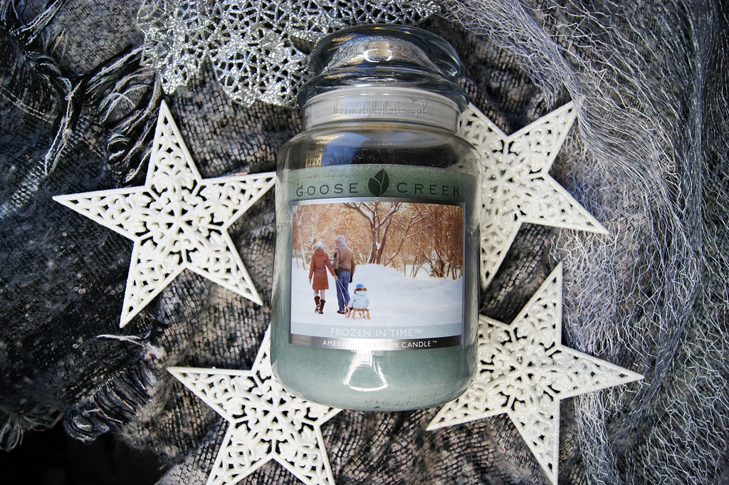 Frozen In Time Goose Creek Candle - zapach zimy