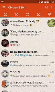 iMessenger v7 BBM WhatsApp Theme v3.0.1.25 MOD APK Terbaru Update 2016
