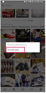 Cara Remove/Mute Channel Topik Pada Tab Explore Instagram untuk Menghapus Saluran Topik Pada Tab Jelajahi Instagram