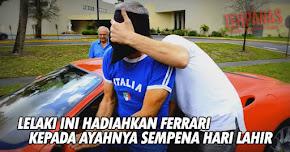 Thumbnail image for (Video) Lelaki Ini Hadiahkan Kereta Ferrari Kepada Ayahnya Sempena Hari Jadi