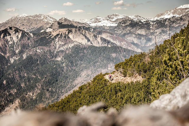 Aussicht Monte Vualt