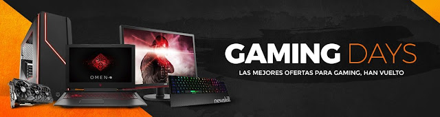 Top 10 portátiles Gaming Days de PCComponentes