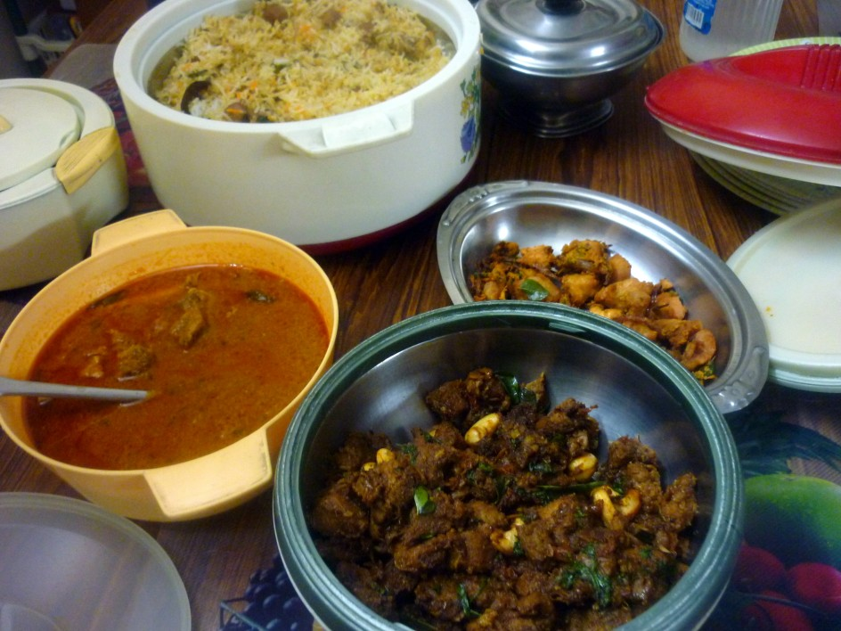 Mutton Biryani Mutton Dum Biryani Indian Non Veg Thali Step By