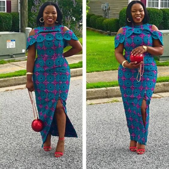 0284e6b9011 Lovely And Creative Ankara Long Gown Style For The Pretty Plus Size Divas