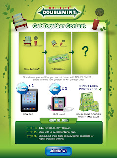 doublemint - CONTEST - [ENDED] Win The New iPad, iPod Nano!