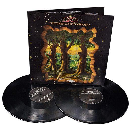 KING'S X - Gretchen Goes To Nebraska [2-LP reissue remastered 2015] discs