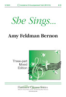 She Sings... by Amy Feldman Bernon - Three-Part Mixed  3129160