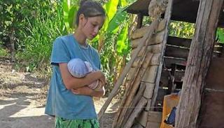 Τη θεωρούσαν νεκρή αλλά βρέθηκε με βρέφος σε ζούγκλα του Περού, δέσμια ενός «γκουρού» που τη βiαζε