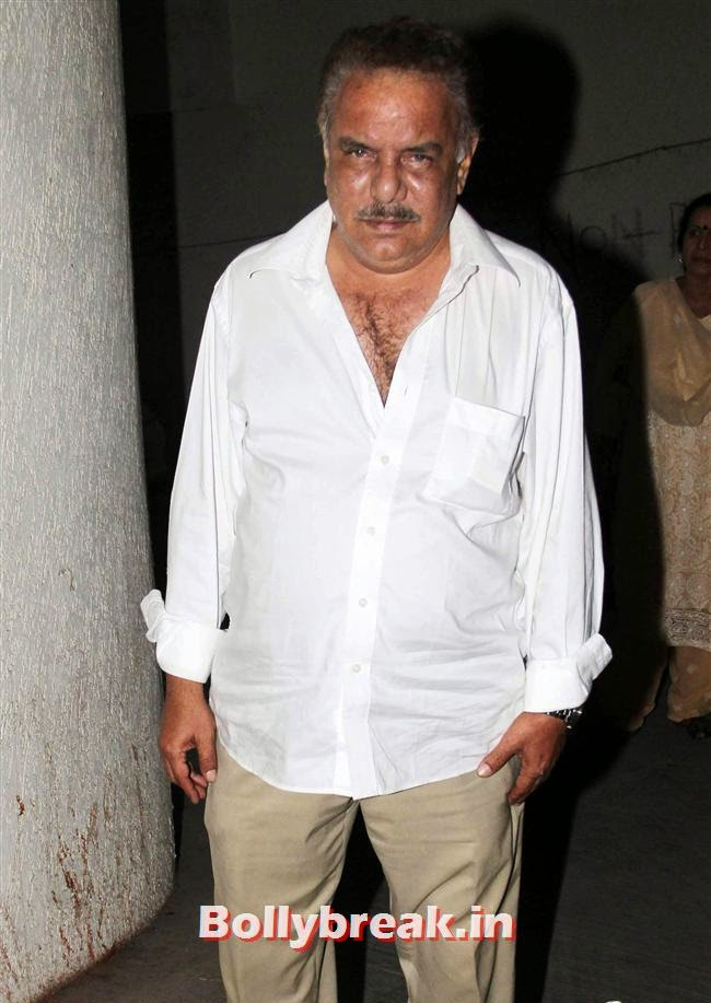 Anant Jog, Amitabh Bachchan at Bhoothnath Returns Special Screening