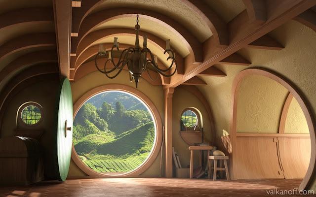 Magical Hobbit House Orcas Island, Washington