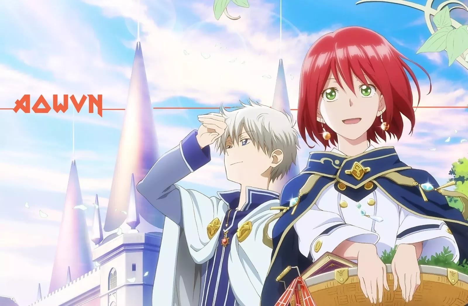 AowVN m%2B%25282%2529 - [ Anime 3gp Mp4 ] Akagami no Shirayukihime SS1 + SS2 + OVA | Vietsub