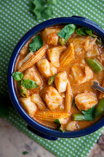 Homemade Veggie Thai red curry