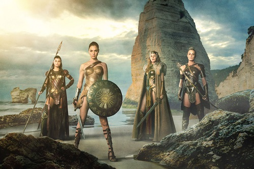 Diana de Themyscira, Hipólita, Antiope e amazona