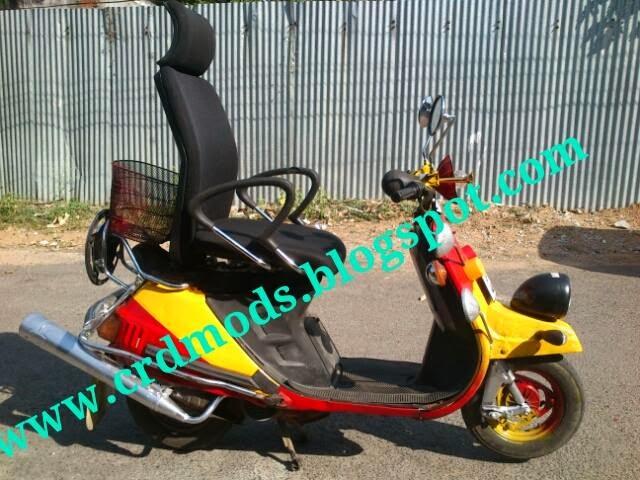 crd bike modifications