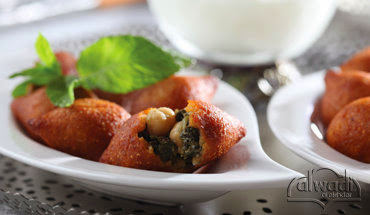 cups Al Wadi Al Akhdar frozen chopped spinach Pumpkin Kibbeh Balls Recipe