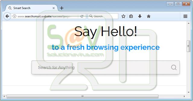 Searchsmart.website (Hijacker)