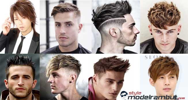 Model rambut pendek pria
