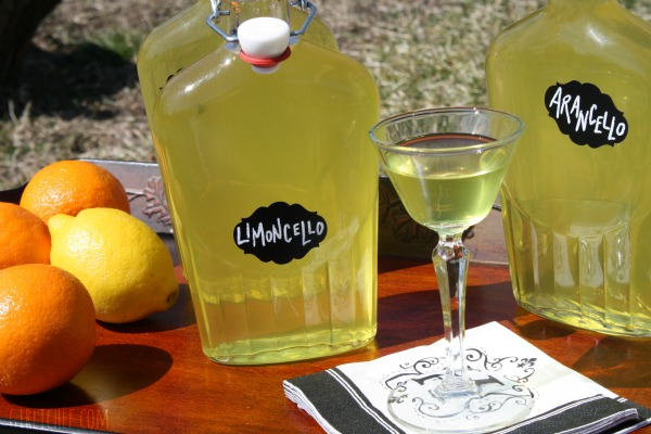 DIY Arancello and Limoncello