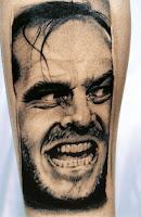 tatuaje para halloween el resplandor