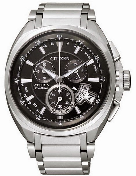 CITIZEN ATTESA ECO-DRIVE RADIO TITANIUM BY0020-59E