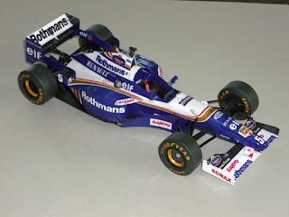 Williams FW18 - Damon Hill Jacques Villeneuve Japan GP 1996 Forum Team