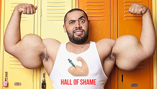 STRENGTH FIGHTER™: Synthol Freak Moustafa Ismail 31 inch