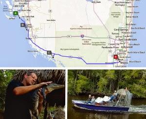 Route Florida Miami