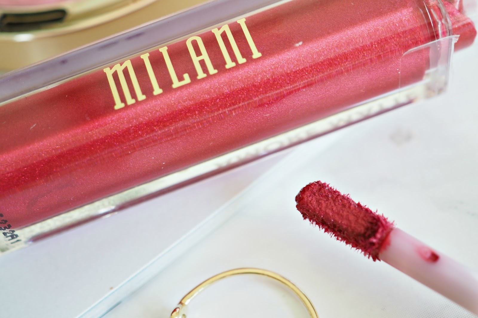 Milani Amore Metallic Lip Creme - shade 06 Mattely in Love