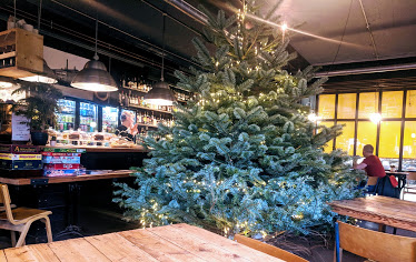 A Grown-Up Festive Weekend in Ouseburn - kiln christmas tree