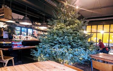 A Grown-Up Festive Weekend in Ouseburn - kiln christmas tree
