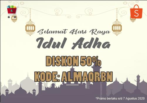 Hanya di Shopee! - Promo Spesial Hari Raya Idul Adha