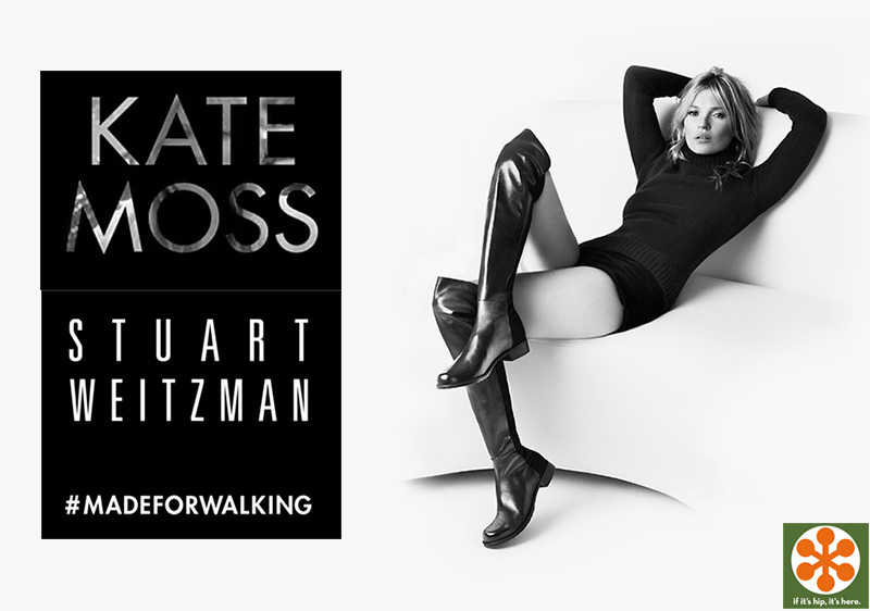 Kate Moss Boots For Stuart Weitzman