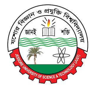 jessore university of science and technology of logo