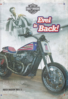 evel knievel tribute motorcycle 750 street rod from hd jesi 2018