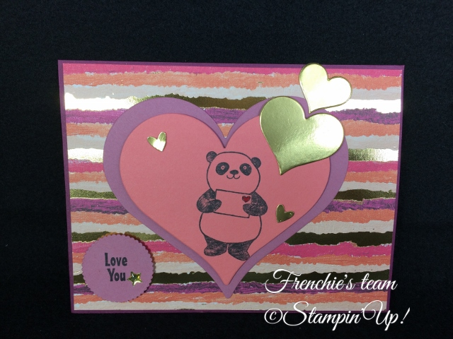 Party Pandas,  Sale a Bration and Occasion Stampin'Up! 2018, Frenchie stamps in the Spotlight,