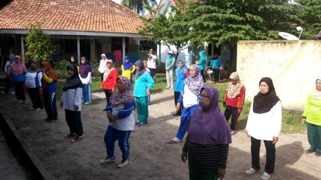 Puskesmas Tanjung Raja Gelar Senam Sehat