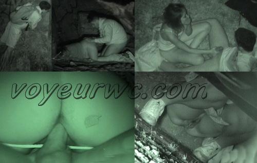 Couple Having Sex in Public on Street Hidden Cam (Galician Night Sex 113-115)