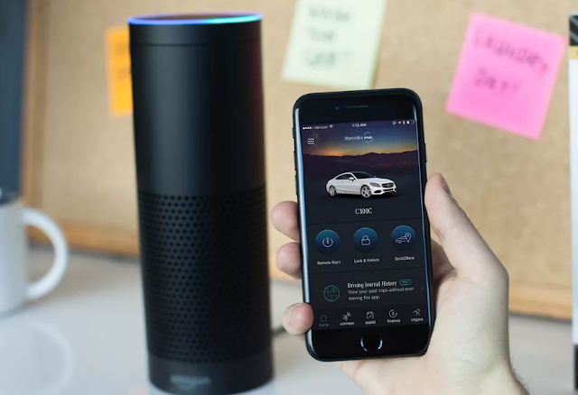 Mercedes-Benz is connecting the Amazon Echo and Google Home to all its new cars