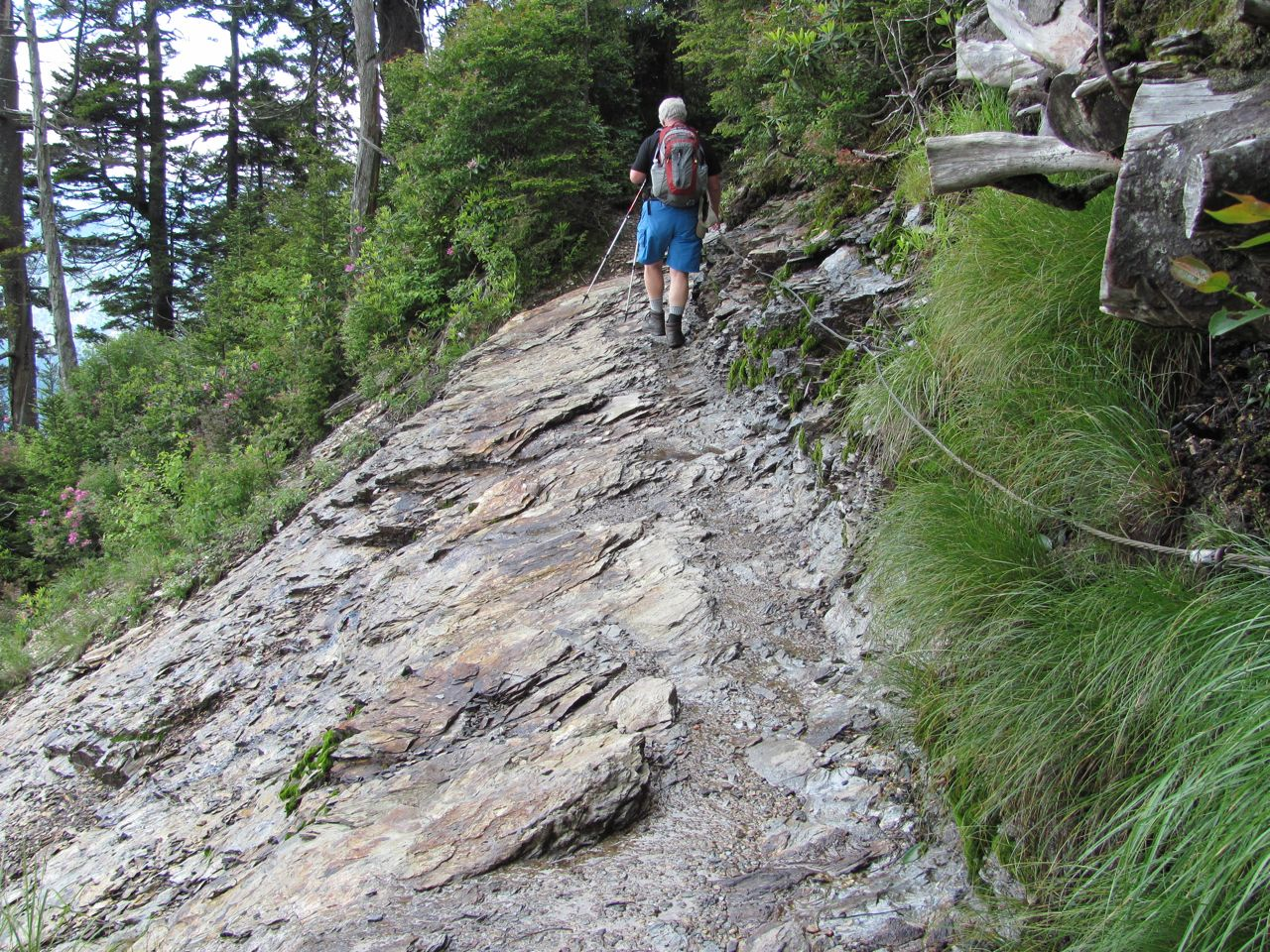 Blue Roads to Hiking Trails: Alum Cave Trail to Mt LeConte ...