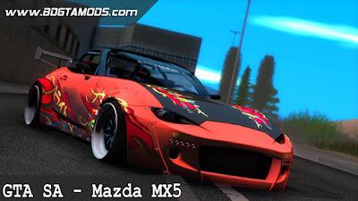 GTA SA - Mazda MX5