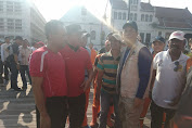 Djaharuddin Dampingi Rustam Effendi Giat Car Free Day di Kota Tua