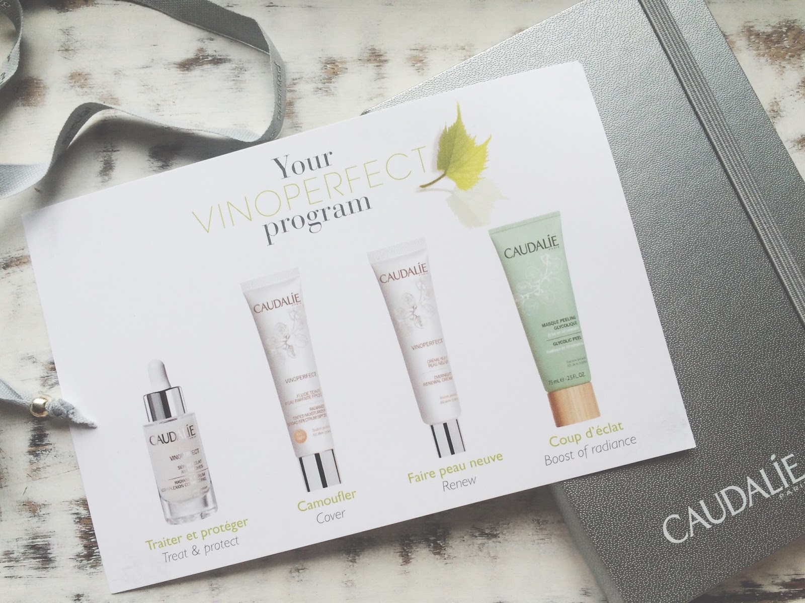 Caudalie Vinoperfect Box Vinoperfect Program