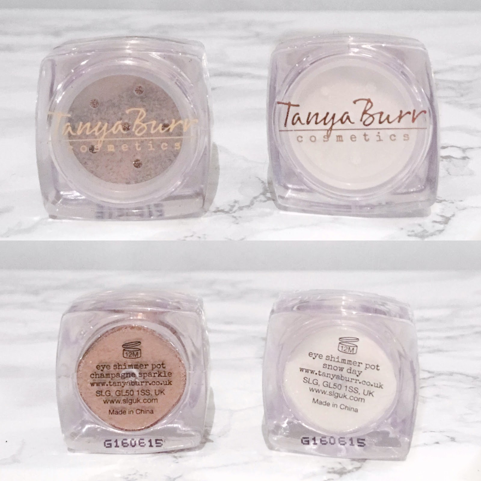 Tanya Burr Eye Shimmer Pots