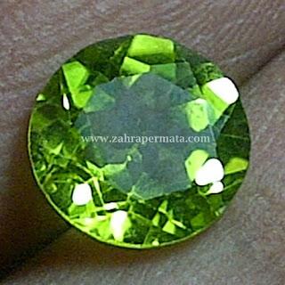 Batu Permata Peridot - ZP 215