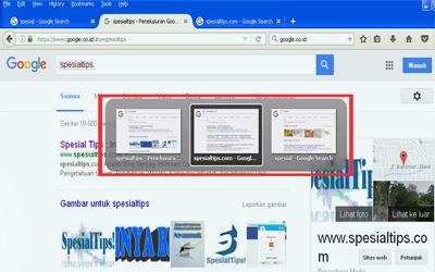Trik Membuat beberapa tab di browser Firefox menjadi thumbnail