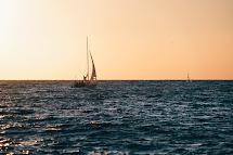 Blue Bouy Boat