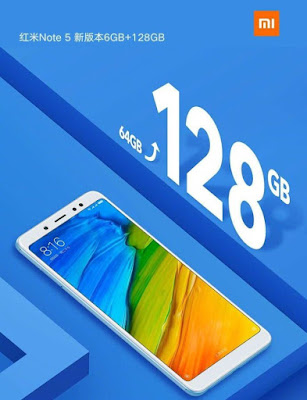 Xiaomi launches 6GB RAM, 128GB storage variant of Redmi Note 5 in China