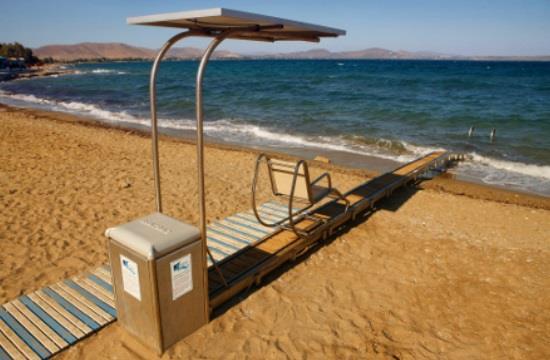 Ο Δήμος Πολυγύρου  εξασφαλίζει την ελεύθερη πρόσβαση σε θάλασσες και παραλίες για τα ΑμΕΑ.