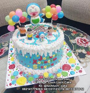 Kue Tart Ulang Tahun Doraemon Lucu Untuk Anak