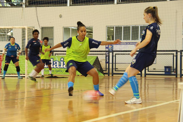 Seleção feminina de futsal encerrou as atividades de 2018
